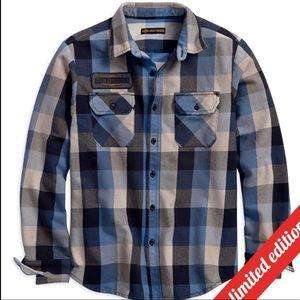 Harley Davidson Limited Edition Eagle Patch Shirt